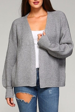 Shoptiques Product: Kelly Open Front Cardigan