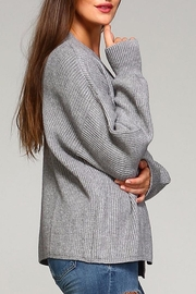 Selfie Couture Kelly Open Front Cardigan - Side cropped