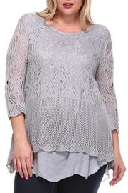 Selfie Couture Plus Size Knit & Muslin - Product Mini Image