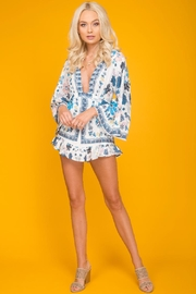 Selfie Leslie Floral Mini Dress - Product Mini Image