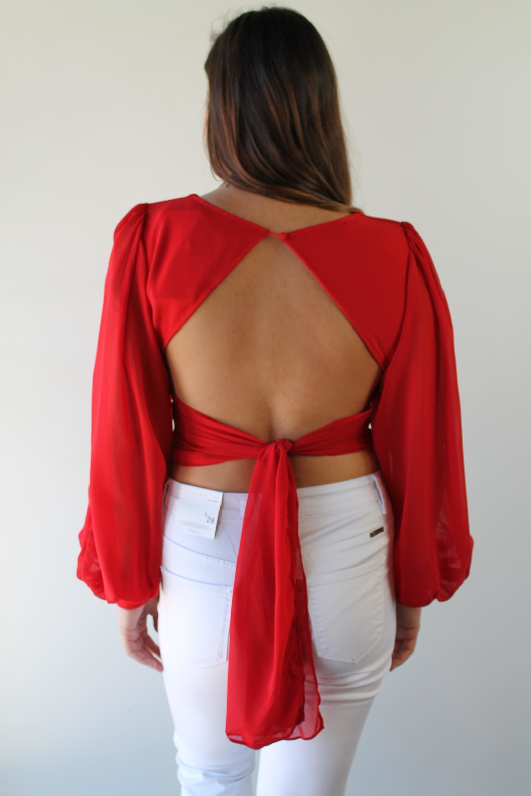 Selfie Leslie Foxy Mama Blouse - Front Full Image