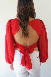 Selfie Leslie Foxy Mama Blouse - Side cropped