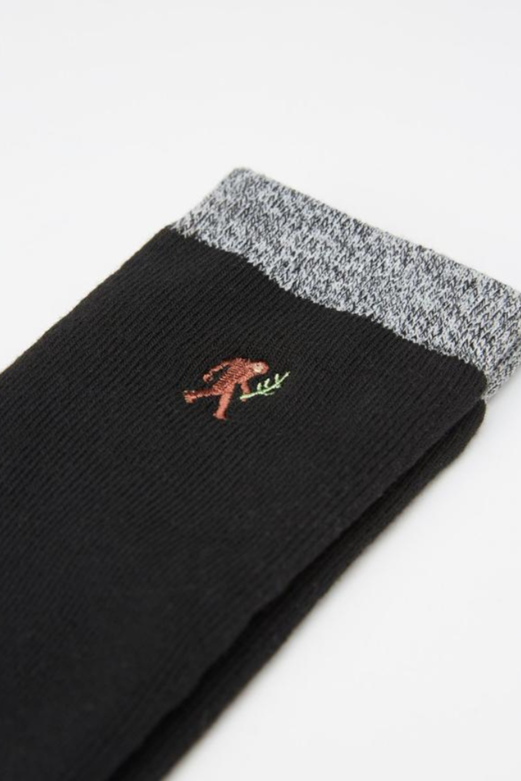 Ten Tree Selkirk Embroidered Sock - Front Full Image