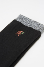 Ten Tree Selkirk Embroidered Sock - Front full body