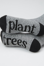 Ten Tree Selkirk Embroidered Sock - Side cropped