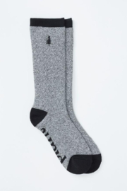 Ten Tree Selkirk Embroidered Sock - Front cropped