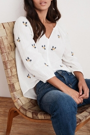 Velvet Selma Embroidered Top - Other