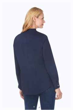 Foxcroft Selma Stretch Tunic Blouse - Alternate List Image
