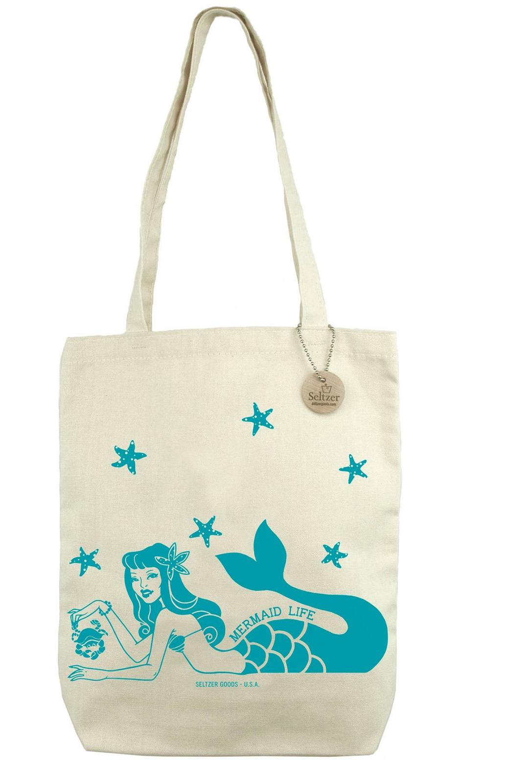 Seltzer Goods Mermaid Tote Bag - Main Image
