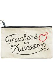 Seltzer Goods Teachers Awesome Pouch - Front cropped
