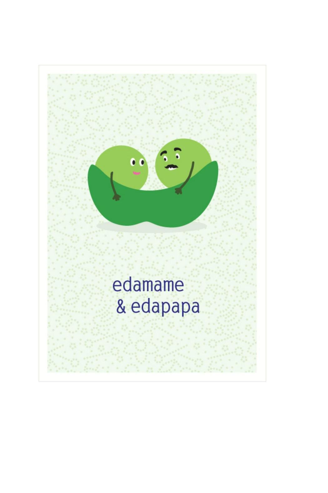 Seltzer Goods Edamame Baby Card From Orange County By Tin Velvet