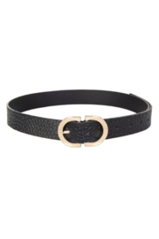 Fame Accessories Semi Circle Buckle Belt - Product Mini Image