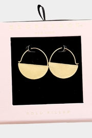 TIGERLILY Semi-Circle Hooped Earrings - Product Mini Image