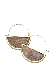 Lets Accessorize Semi Hoop Earring - Product Mini Image