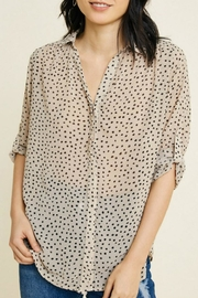 Hayden Semi-Sheer Button-Down - Product Mini Image