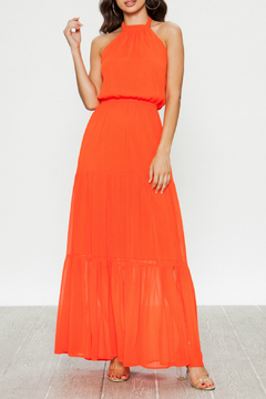 Shoptiques Product: Semi-sheer maxi dress