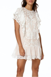 Stellah Semisheer Embroidered Lace Dress - Product Mini Image