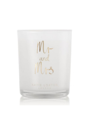 Katie Loxton SENTIMENT GOLDEN COLLECTION CANDLE | MR AND MRS - Product Mini Image