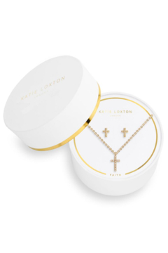 Katie Loxton Sentiment Set Cross - Product List Image