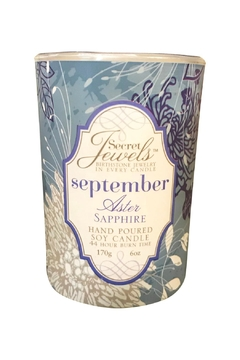 Shoptiques Product: September Birthstone Candle