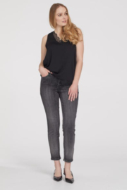 Tribal  Sequin Ankle Jeggings - Front cropped