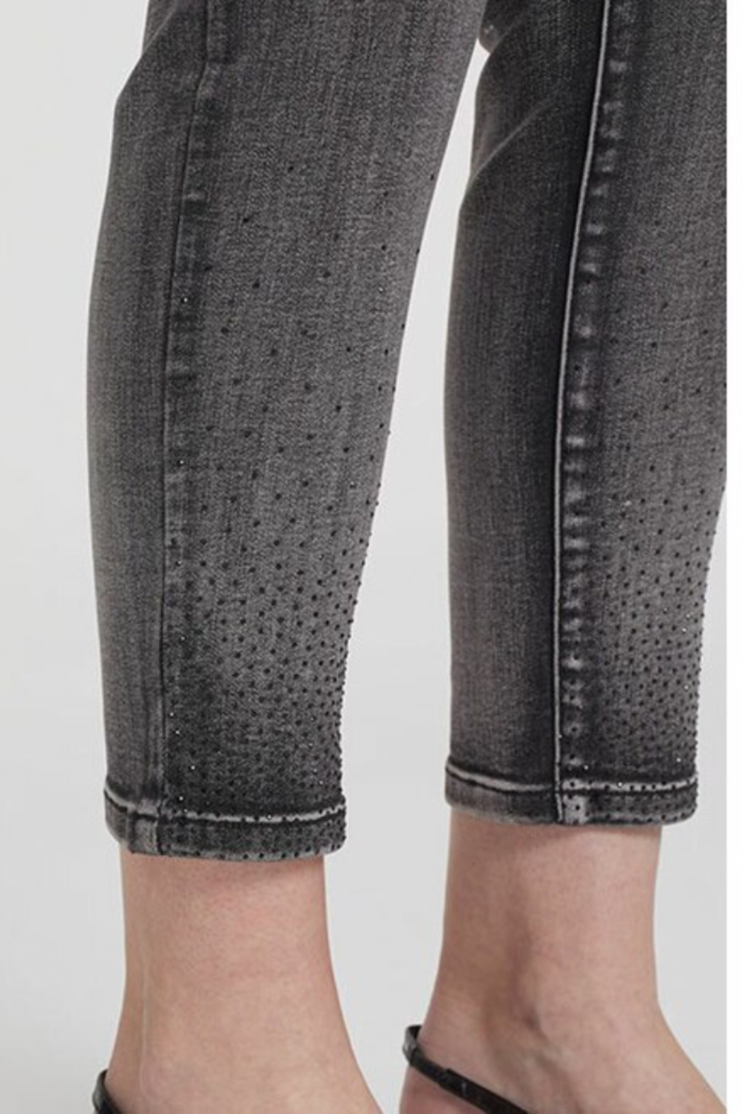 Tribal  Sequin Ankle Jeggings - Front Full Image
