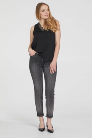 Tribal  Sequin Ankle Jeggings - Product Mini Image