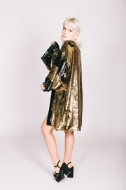 Any Old Iron Sequin Bronze Kimono - Side cropped
