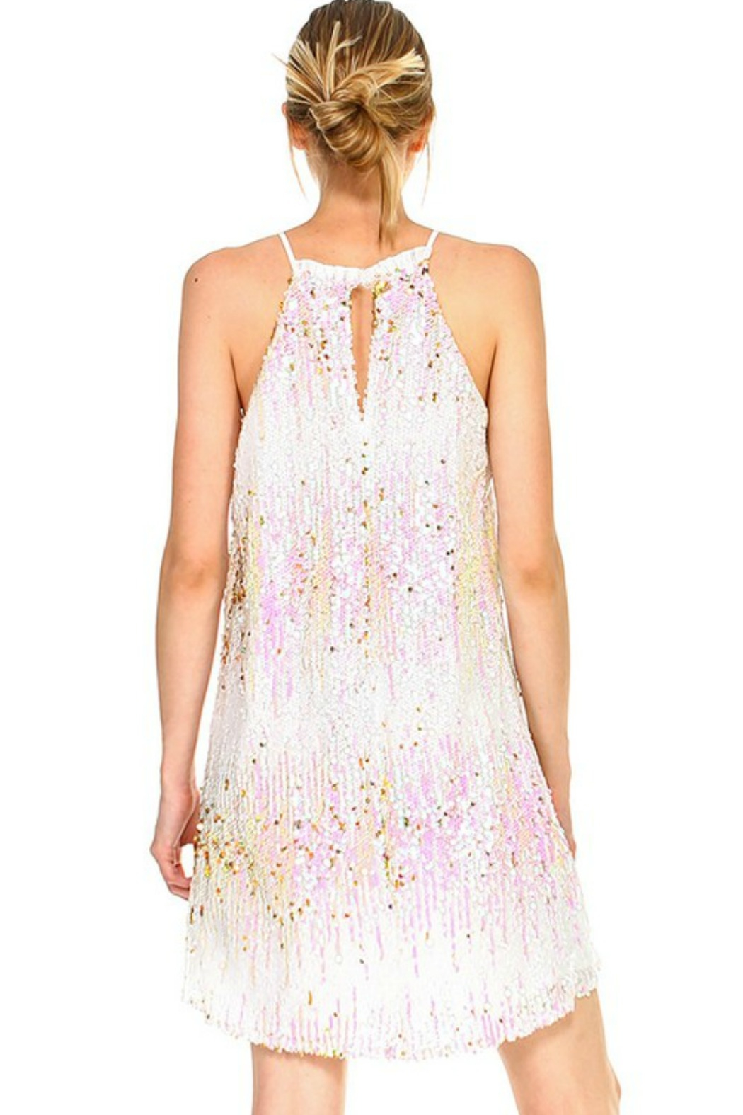 TCEC Sequin Cami Dress - Side Cropped Image
