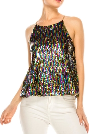 She + Sky Sequin Cami Top - Product Mini Image