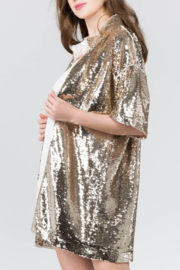 On Twelfth Sequin Cardigan - Side cropped