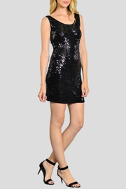 Rosette Sequin Club Weardress - Front cropped