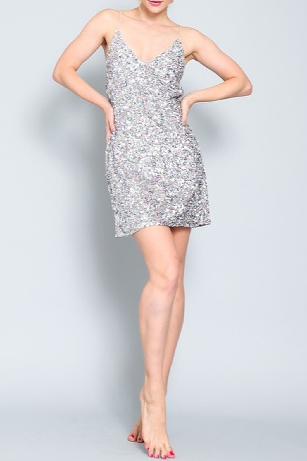 AAKAA Sequin Cocktail Dress - Main Image
