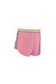 Hannah Banana Sequin Dolphin Shorts - Pink - Product Mini Image