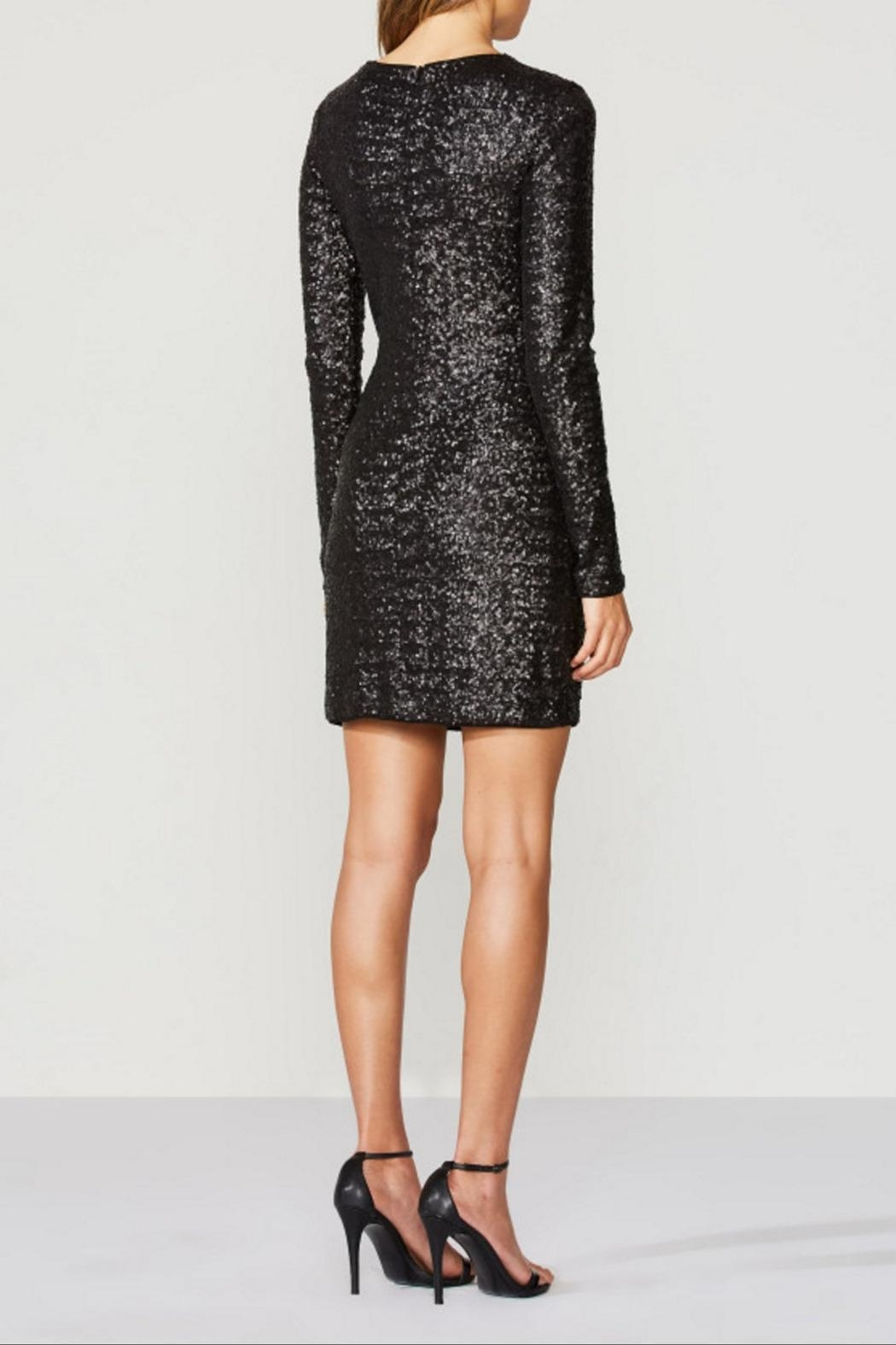 Bailey 44 Sequin Dress - Back Cropped Image