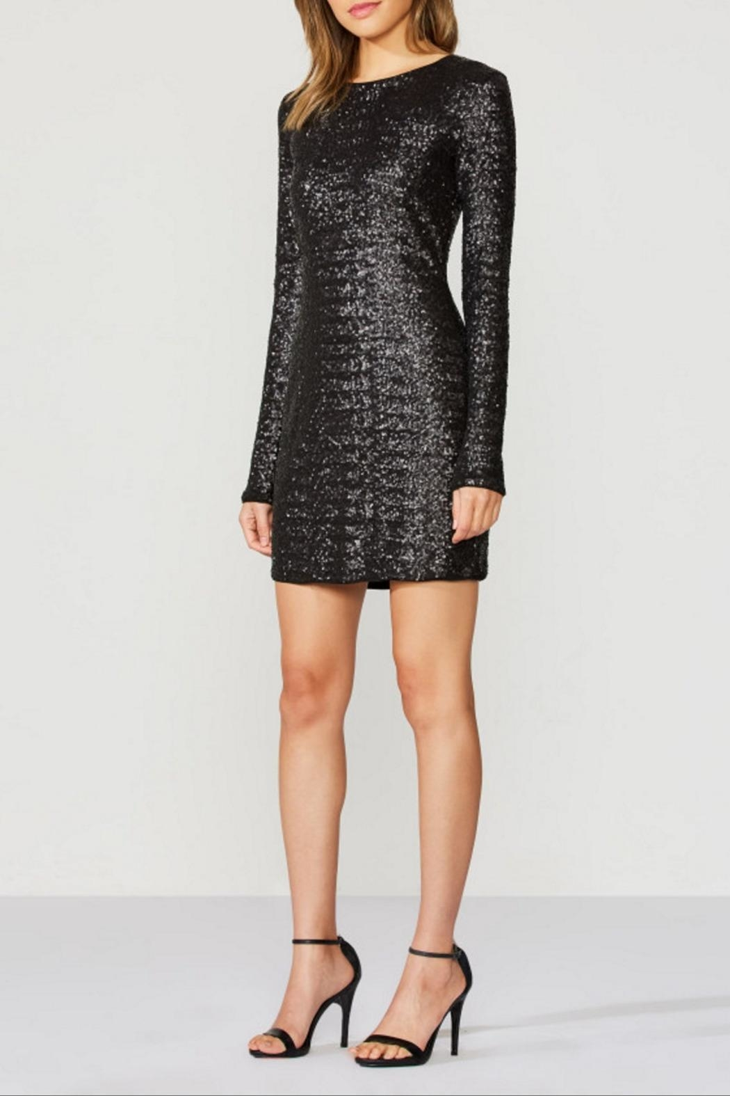 Bailey 44 Sequin Dress - Side Cropped Image