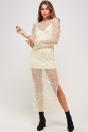 Mable Sequin Dress - Product Mini Image