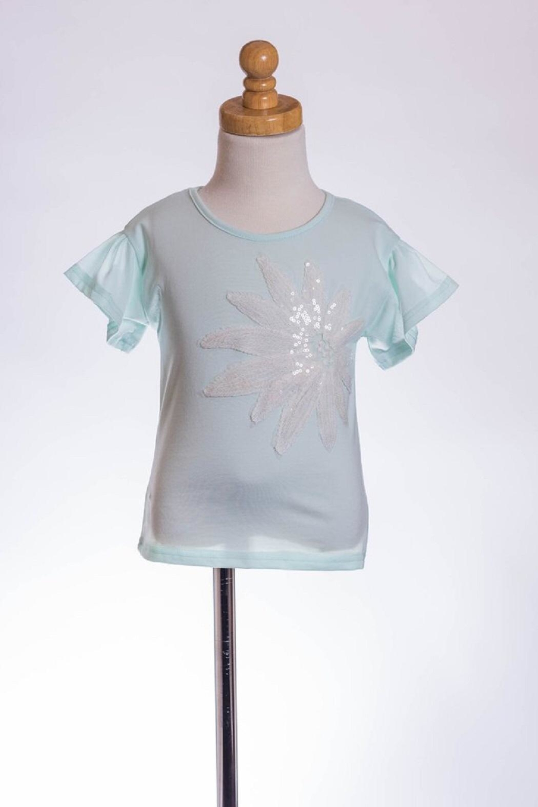 ML Kids Sequin Embellished Tee - Main Image