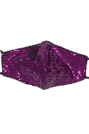 Hana Sequin Face Mask - Front cropped