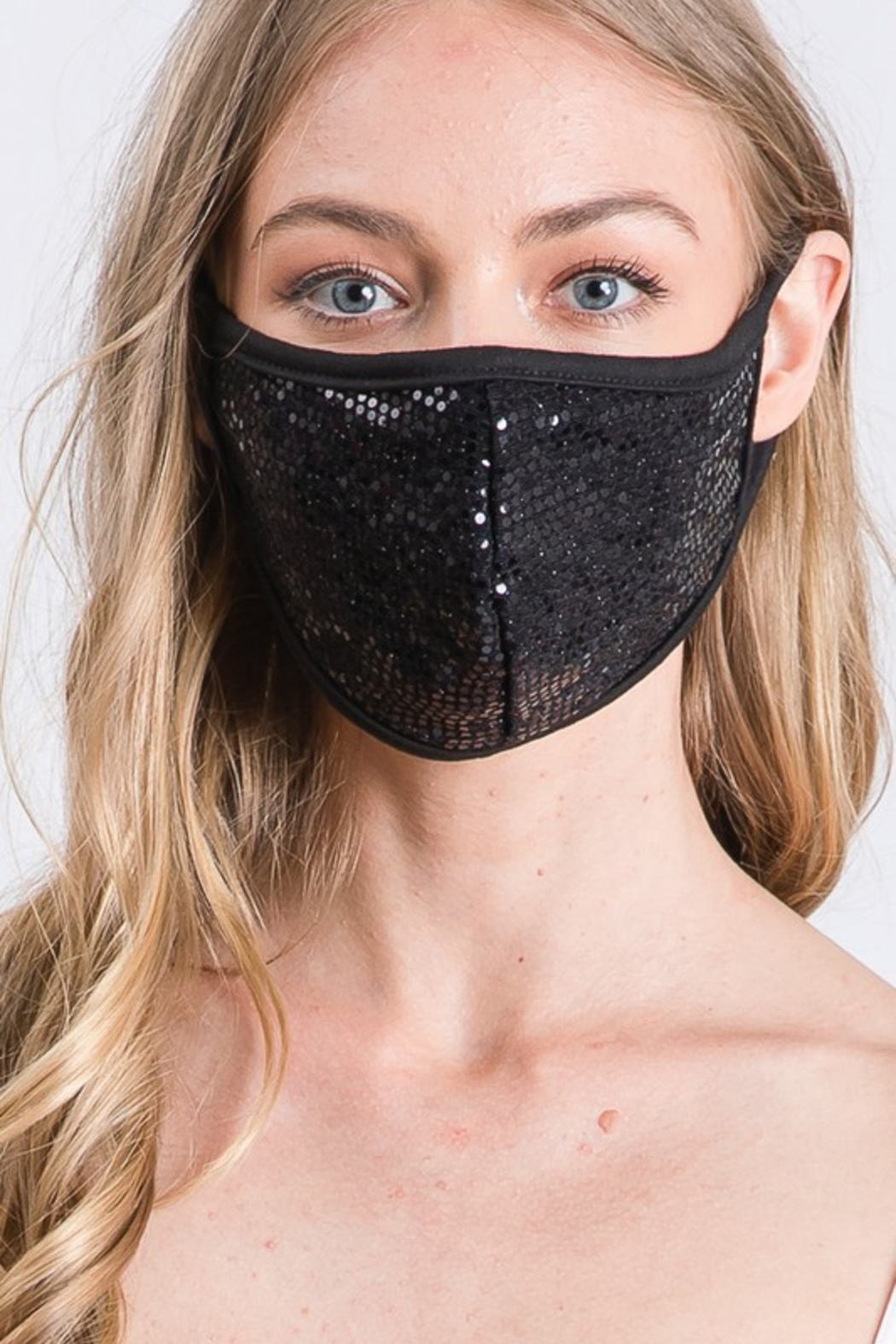 Amite  Sequin Face Mask - Main Image