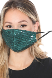 Lenovia  Sequin Face Mask - Product Mini Image