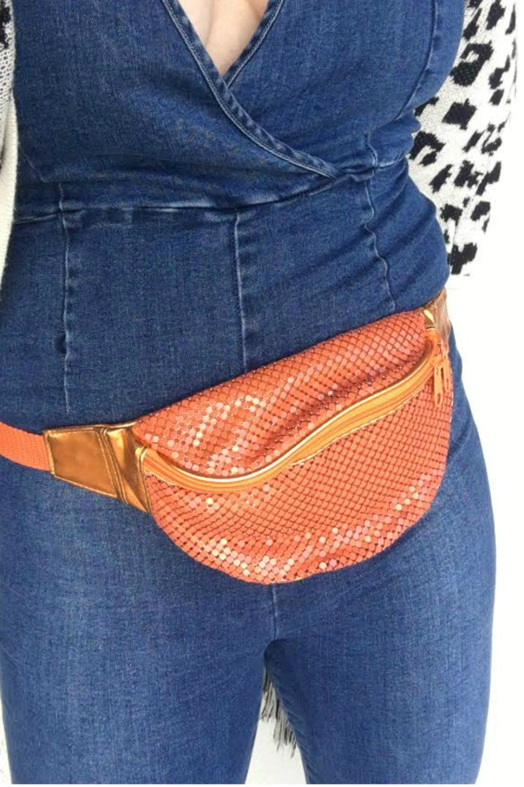 Minx Sequin Fanny Pack - Main Image