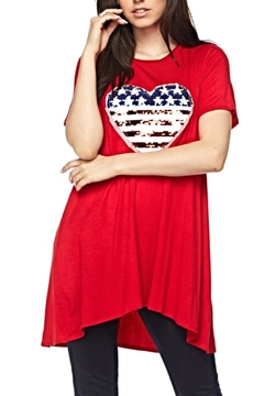 KITTY COUTURE  Sequin Flag Tunic - Alternate List Image