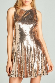 AAKAA Sequin Flare Dress - Product Mini Image