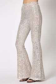 By Together  Sequin Flare Pants - Other