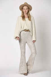 By Together  Sequin Flare Pants - Product Mini Image