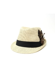 Nadya's Closet Sequin Floral Fashion-Fedora - Product Mini Image