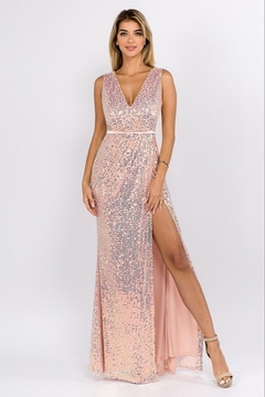 maniju Sequin Formal Gown - Product List Image