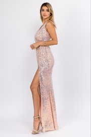 maniju Sequin Formal Gown - Front full body