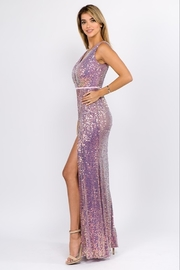 maniju Sequin Formal Gown - Side cropped